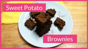 Sweet Potato Brownies - plant-based, gluten-free and sugar-free