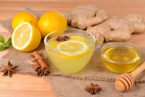 favourites in October - Lemonwater with Ginger