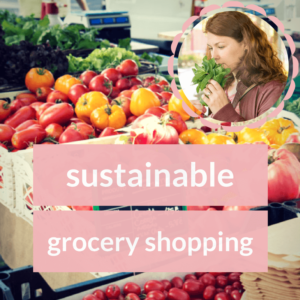 sustainable shopping - my favourite hobby