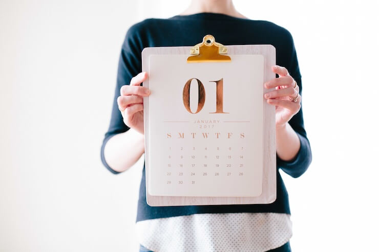 New Year's resolutions - mark it in your calendar