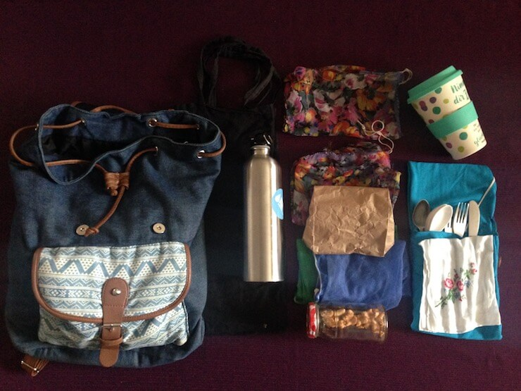 Plastic Free Living - What I carry arounf