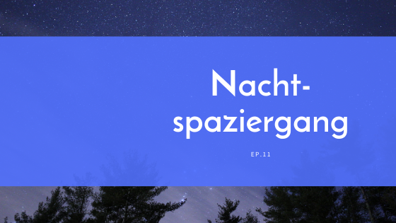 The Bravely Balanced Podcast-Nachtspaziergang